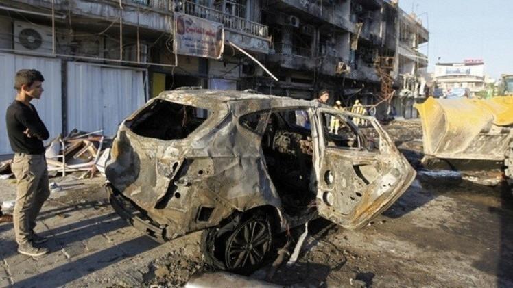 مقتل وإصابة 16 شخصا بتفجير في بغداد