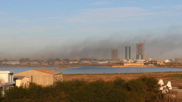 وسائل إعلام: انفجار ضخم يستهدف مبنى الخارجية الليبية وسط طرابلس