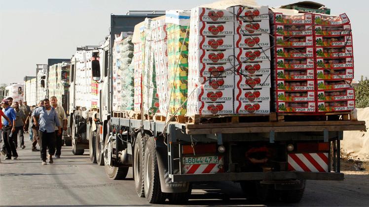 إسرائيل تستأنف استيراد منتجات زراعية من غزة