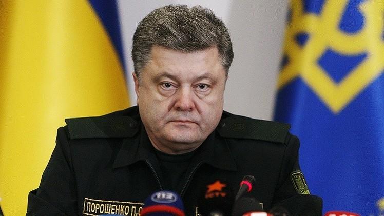 رئيس أوكرانيا يؤكد مشاركة خبراء الناتو في تدريب جيشه
