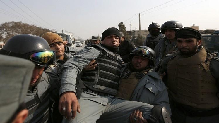 مقتل 7 عناصر شرطة أفغان بهجوم لطالبان وسط البلاد