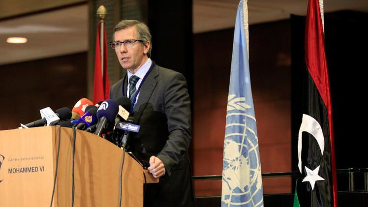المبعوث الأممي يلتقي وفدا يمثل المؤتمر الوطني الليبي