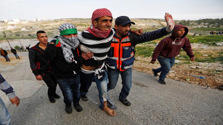 إصابة فلسطيني برصاص الجيش الإسرائيلي في الضفة الغربية