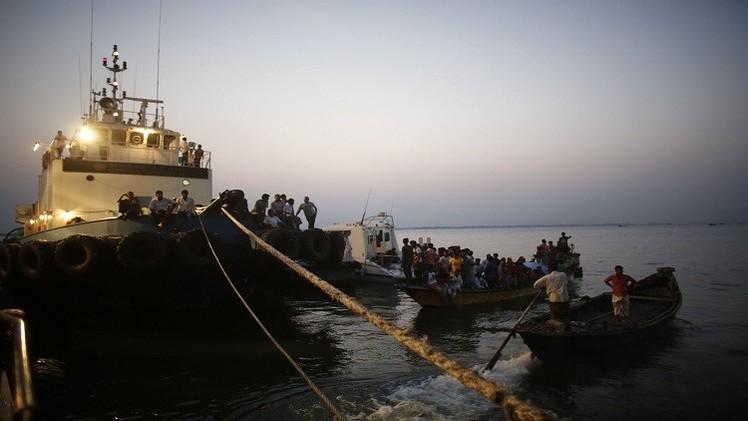 21 قتيلا و26 مفقودا نتيجة غرق عبارة قبالة سواحل ميانمار