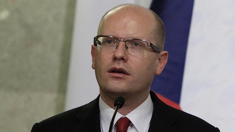 التشيك ترفض التفاوض مع