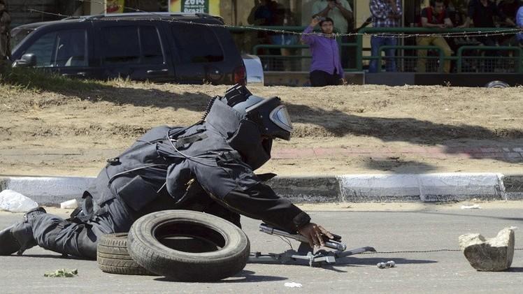 مقتل عامل نظافة بتفجير قنبلة في القاهرة