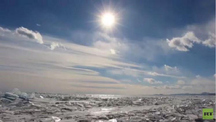 بالفيديو.. علماء روس: منسوب مياه بحيرة بايكال سيستقر قريبا
