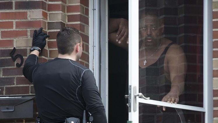 اعتقال أمريكي من أصول إفريقية بتهمة إطلاق النار على شرطيين