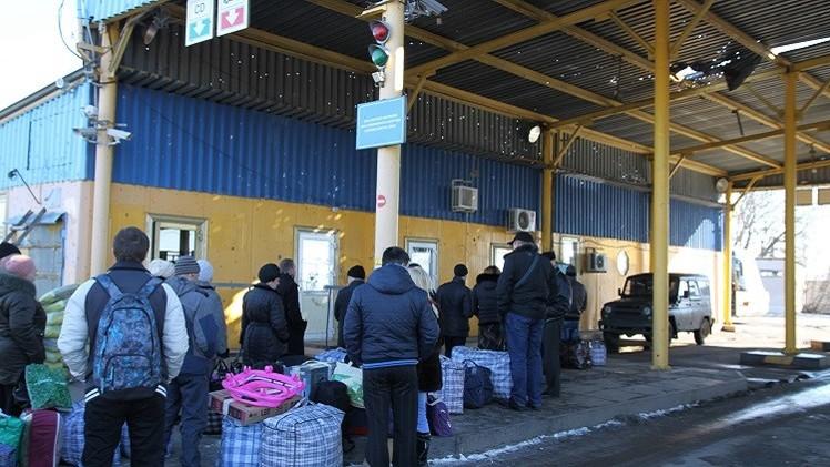 كييف تلغي اتفاقية تسهيل حركة سكان المناطق الحدودية مع روسيا