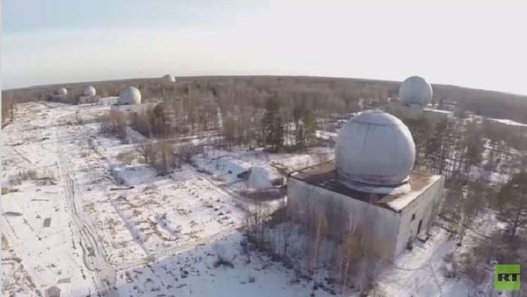 بالفيديو.. لقطات حصرية من منشأة بضواحي موسكو للدفاع الصاروخي