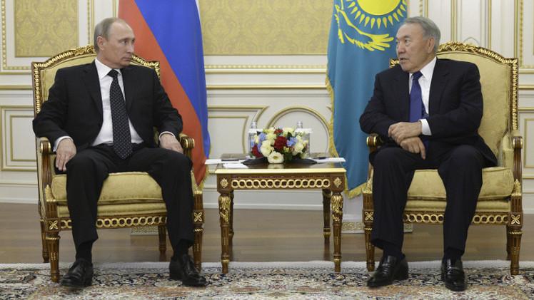 بوتين يزور كازاخستان في 20 مارس