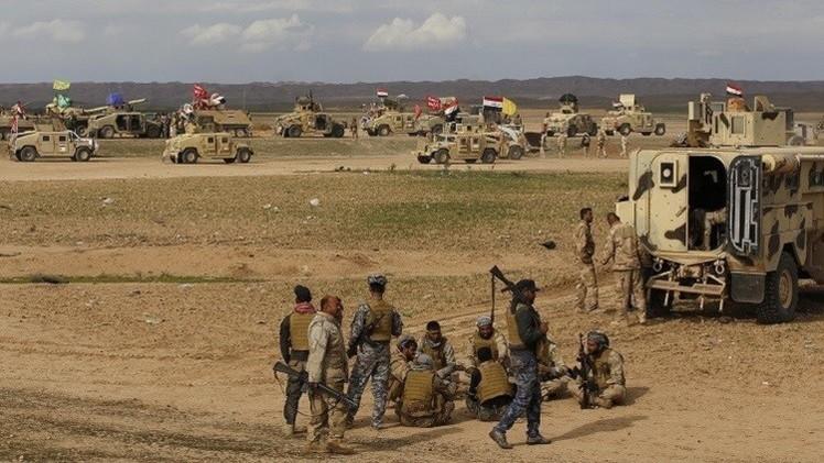 الجيش العراقي يطلب مساندة جوية إضافية للتقدم نحو تكريت