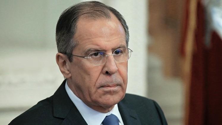 لافروف: خطط الولايات المتحدة لتسليح أوكرانيا توجه لتقويض اتفاق مينسك