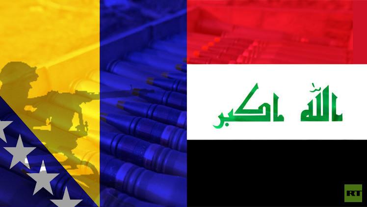 البوسنة والهرسك تسلم العراق أكثر من 550 ألف طن من الأسلحة القديمة
