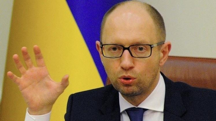 رئيس وزراء أوكرانيا يطالب بوضع الجيش في حالة تأهب قصوى