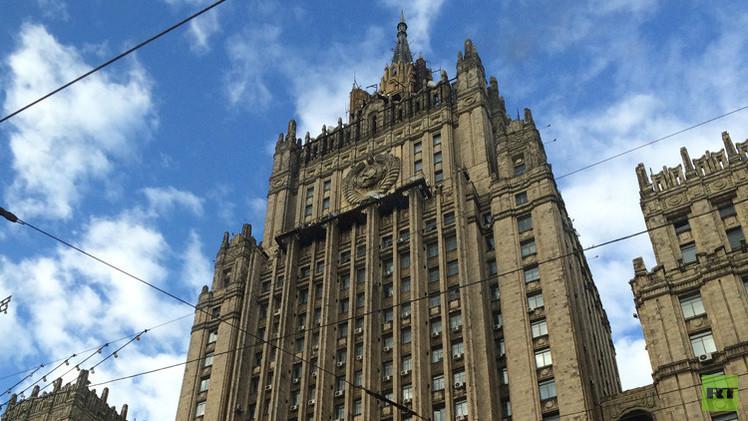 الخارجية الروسية تطالب كييف بالتحقيق في حادثة دهس طفلة بمدرعة في دونباس