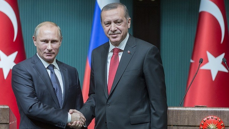 بوتين وأردوغان يبحثان مشروعات طاقة مشتركة