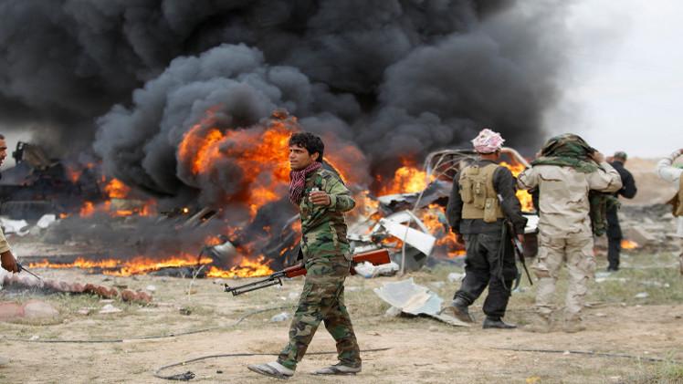 مراسلنا: مقتل 12 شخصا وإصابة 30 بانفجار شاحنة في البصرة جنوب العراق