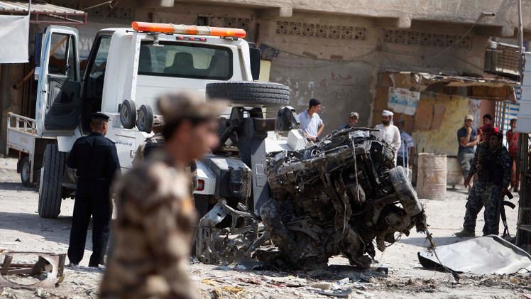 مقتل 3 أشخاص وجرح 5 آخرين بانفجار شاحنة مفخخة في جنوب العراق
