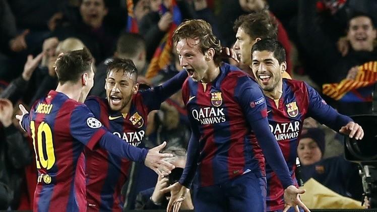 قطار برشلونة يسير في دوري الأبطال على حطام مانشستر سيتي