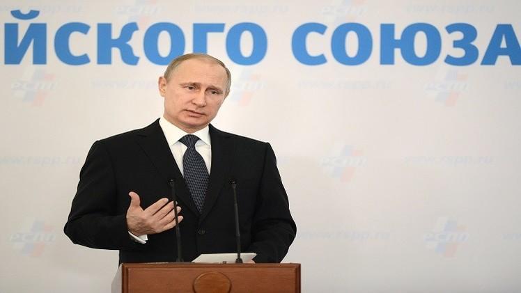 بوتين: الظروف غير مواتية لخفض سعر الفائدة