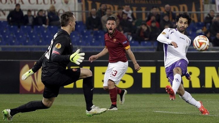 فيورنتينا بصحبة المصري صلاح إلى ربع نهائي الدوري الأوروبي
