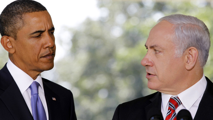 أوباما يؤكد لنتنياهو الالتزام بحل الدولتين