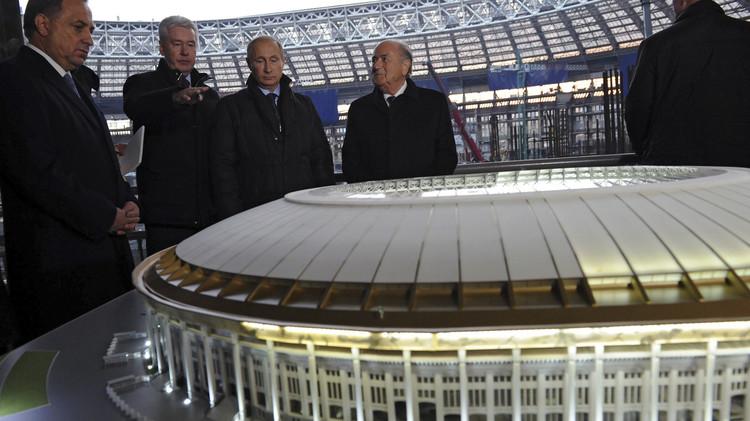 استاد لوجنيكي في موسكو يحتضن المباراتين الافتتاحية والنهائية لمونديال 2018
