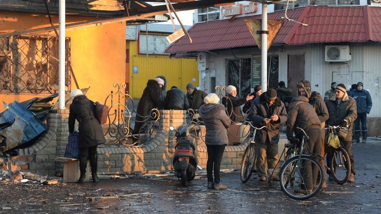 موسكو: خبراء دوليون يعطون تقييما واقعيا للكارثة الإنسانية في دونباس
