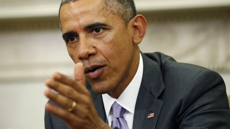 أوباما يدعو طهران للعفو عن معتقلين أمريكيين