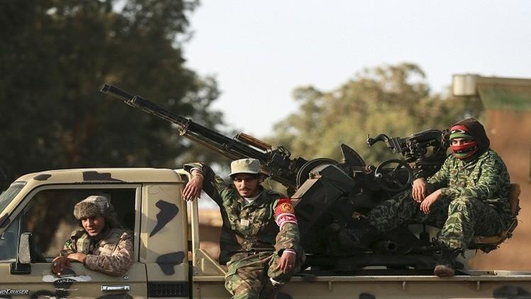 الجيش الليبي يقصف قوات