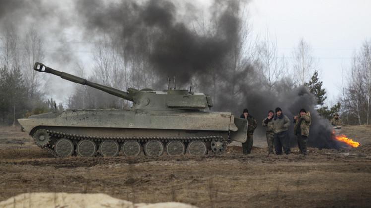 الخارجية الروسية تتهم كييف بخرق صارخ لاتفاقية مينسك