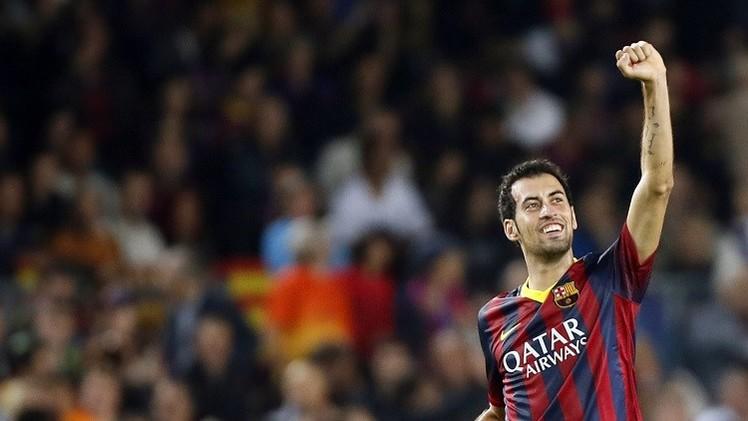 بوسكيتس جاهز لمواجهة ريال مدريد