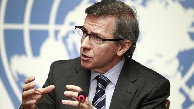 المبعوث الدولي يهدد الثني بسحب الشرعية الدولية منه