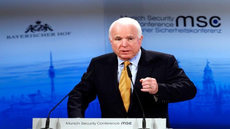 ماكين يهدد بإعادة النظر في تمويل الأمم المتحدة في حال اعترفت بدولة فلسطينية