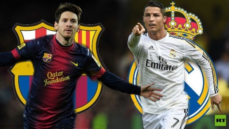 التشكيلة الرسمية للكلاسيكو بين ريال مدريد وبرشلونة