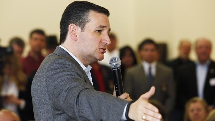 تيد كروز أول مرشحي الجمهوريين إلى انتخابات الرئاسة الأمريكية