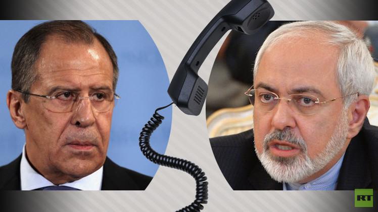 لافروف وظريف يبحثان هاتفيا الملف النووي الإيراني