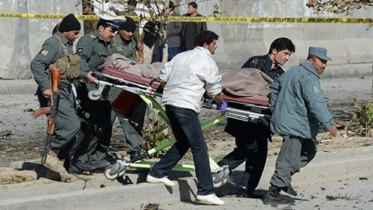 قتلى وجرحى بانفجار قنبلة في أفغانستان