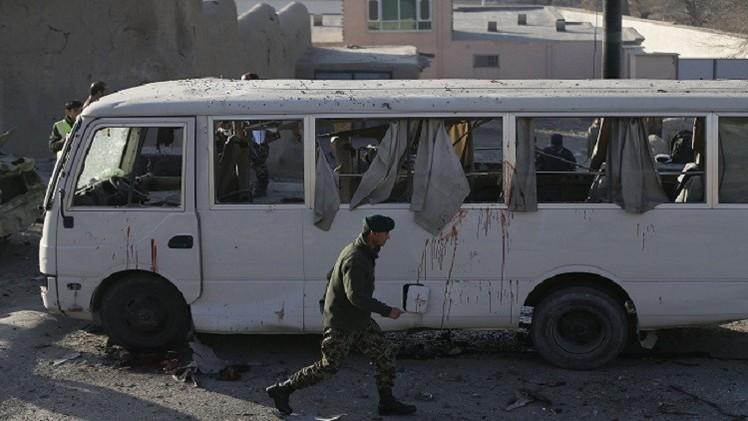 أفغانستان.. مقتل 13 مدنيا في هجوم على حافلة