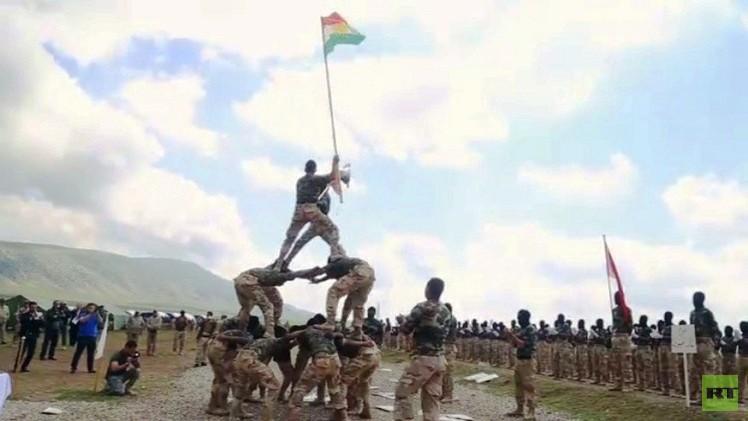 القوات العراقية تواصل تدريب المتطوعين لتحرير نينوى