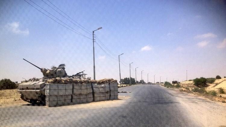 مقتل جنديين مصريين بانفجار عبوة ناسفة شمال سيناء