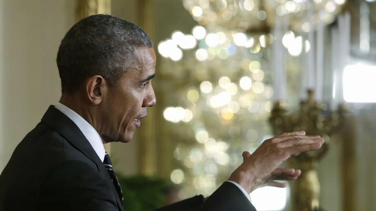 أوباما: لا نقبل سياسة نتنياهو الرافضة للدولة الفلسطينية