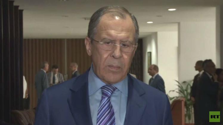 لافروف: موسكو تدعم رفع الحصار الاقتصادي عن كوبا