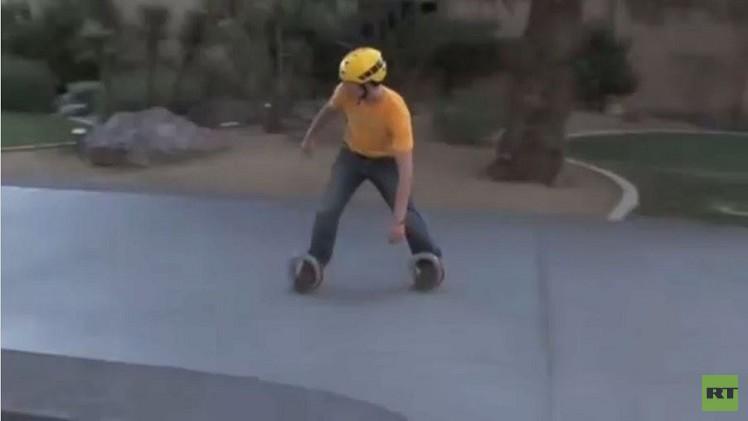 بالفيديو: تصميم جديد لألواح التزلج على الجليد