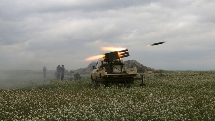 معارك عنيفة بين القوات الحكومية ومسلحين في سوريا