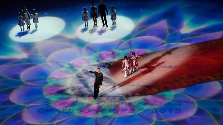 فيديو.. التزحلق الاستعراضي لملك الجليد بلوشينكو في افتتاح بطولة العالم بالصين