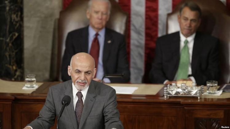 الرئيس الأفغاني يحذر من تهديد
