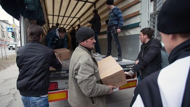 مساعدات إنسانية روسية جديدة إلى دونيتسك ولوغانسك