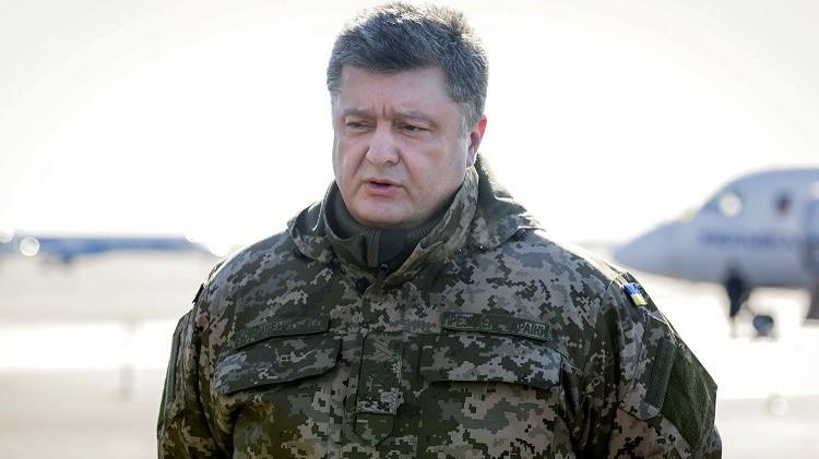 بوروشينكو: الجيش الأوكراني سيجري مناورات بمشاركة مدربين أمريكيين